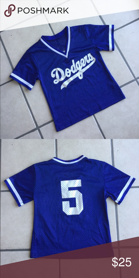 Dodgers Jersey Small Shirts & Tops Tees - Short Sleeve