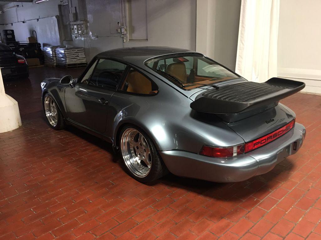 Silver Blue Metallic Porsche 930 Turbo Porsche 930 Porsche