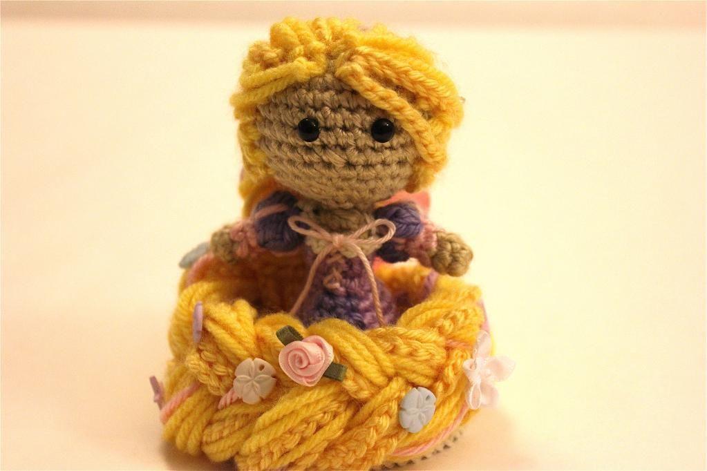 Free Amigurumi Disney Patterns : Rapunzel amigurumi pattern crochet doll crochet doll pattern