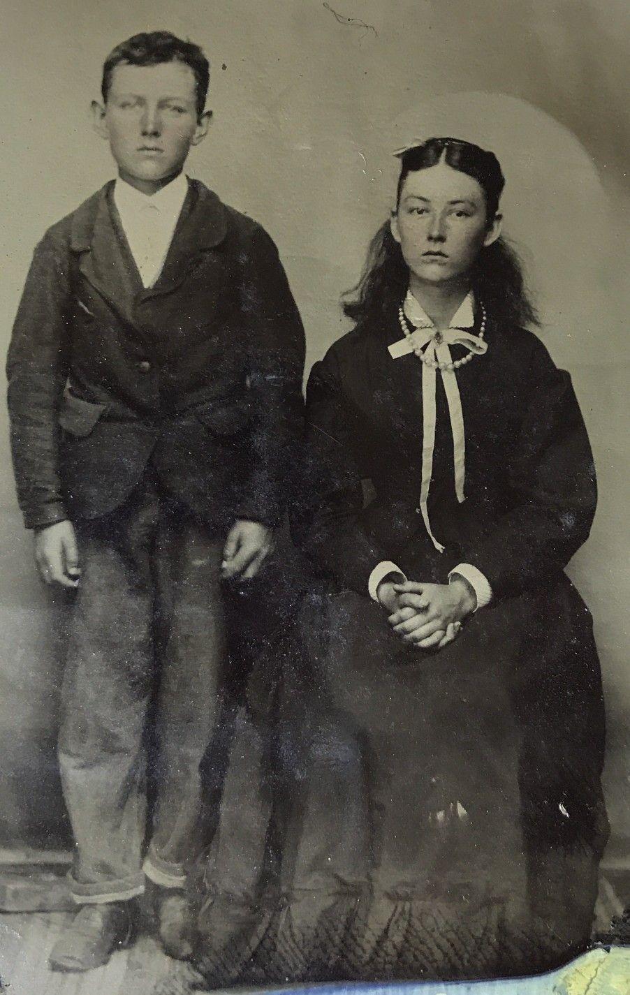 Jesse Woodson Dingus James And Susan Little Sister Susie James