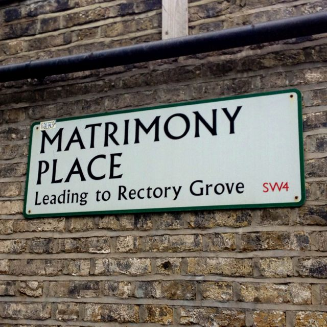 Great street name in Clapham