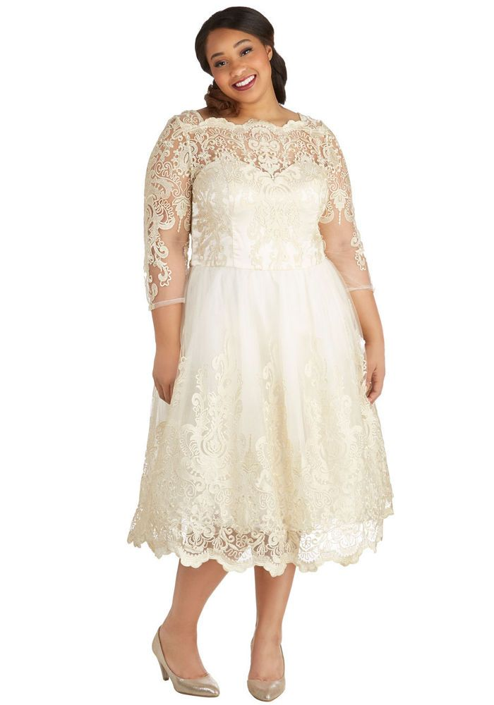 Plus Size Wedding Dress Size 22 Chi Chi London in Clothing, Shoes ...