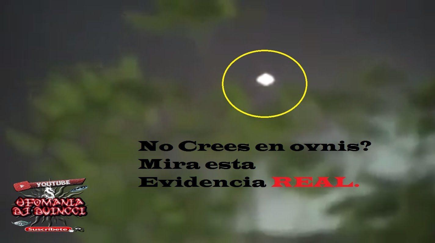 Ufo, Ovni, No Crees en Ovnis? Aquí tienes una EVIDENCIA REAL. 03/2016.