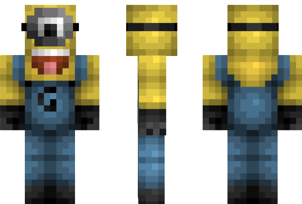 Minion Despicable Me Minecraft Skin I SOOO Want This For My - Minecraft skins spiele