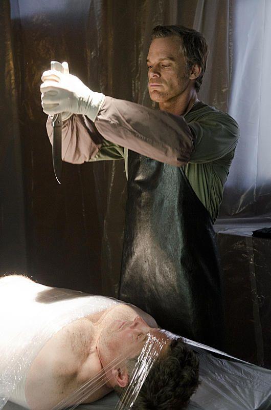 doet Dexter ooit hook up met Debra