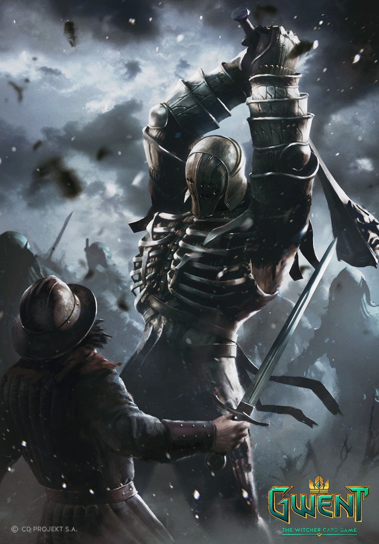 Gwent Cards Artwork Monsters Faction Album On Imgur Fantasy Art Warrior The Witcher Books Witcher Art