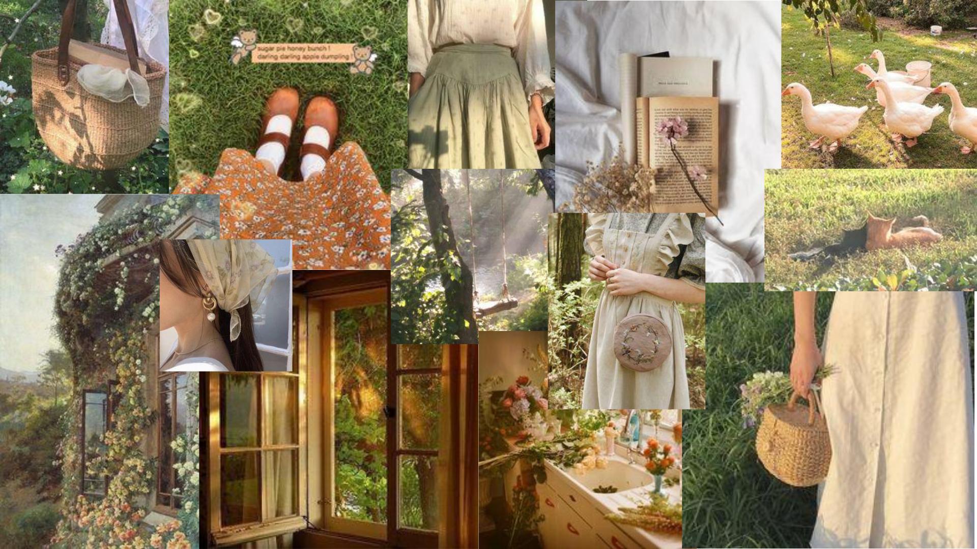 cottagecore desktop wallpaper cottagecore aesthetic