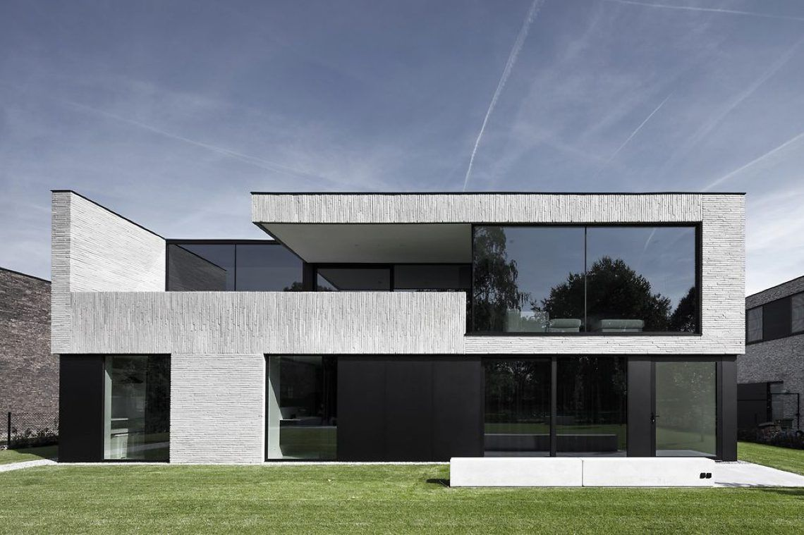 Francisca hautekeete architectuur house m hoog for Case architettura moderna
