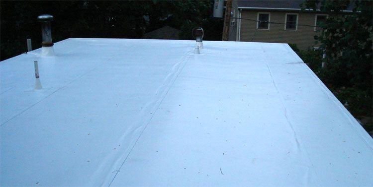 Flat Roof Repair Options Costs And Diy Repair Guides Cool Flat Roof Ma Flat Roof Repair Roof Repair Cost Roof Repair Diy