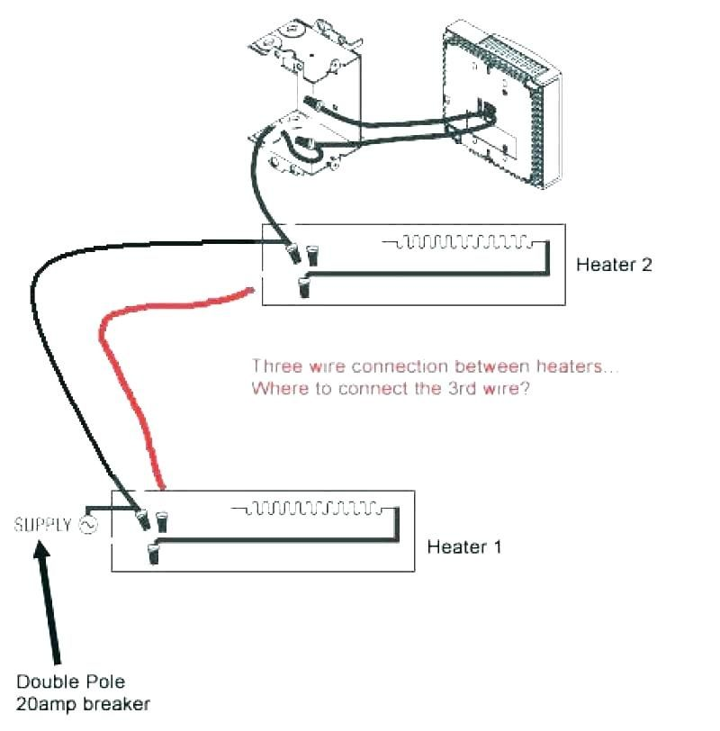 Wiring Diagram For 220 Volt Baseboard Heater | Baseboard ...