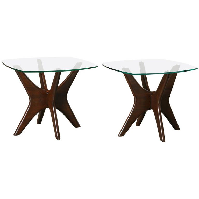 Jacks End Table Set by Adrian Pearsall for Craft Associates | From a unique collection of antique and modern end tables at https://www.1stdibs.com/furniture/tables/end-tables/