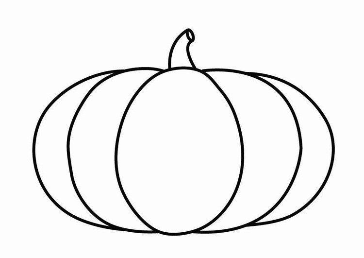 Kleurplaat Pompoen Herfst Pinterest Pumpkin Halloween And