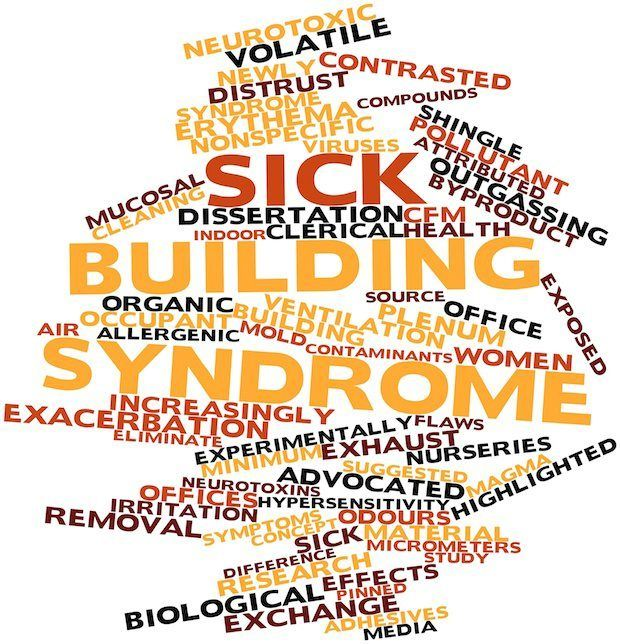 Sick building syndrome (SBS) is a term describing a building which causes the occupants to experience acute or chronic symptoms of sickness