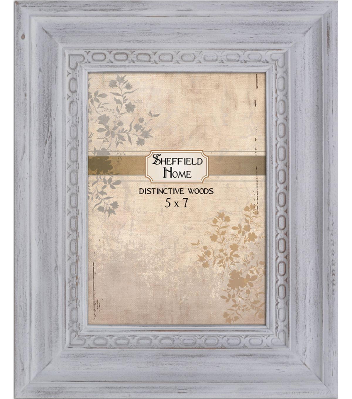 Distressed Frame 5x7 - White | Distressed frames