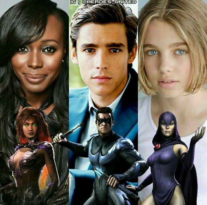 Teen Titans Live Action Series Cast So Far Who Will They -8978