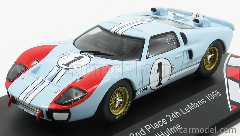 Ford Usa Gt40 Mkii 7 0l V8 Team Shelby American Inc N 1 2nd