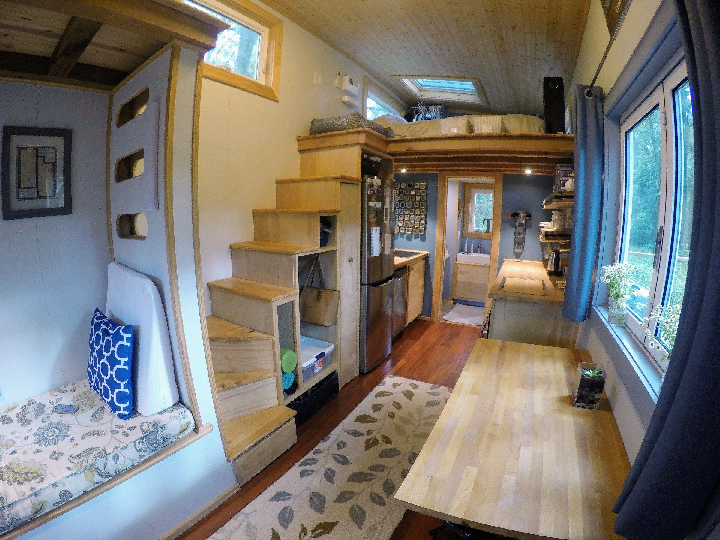 Austin Heidi S Tiny House Creates Contentment Small