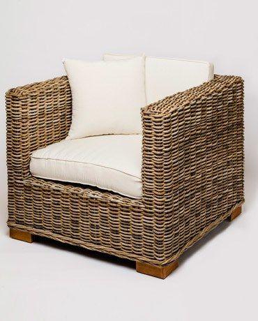 Wicker Cube Chair