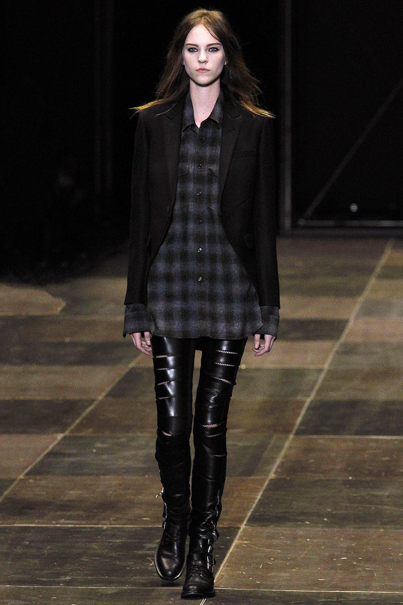 Fall 2013 RTW Runway Saint Laurent #YSL #pfw #PurelyInspiration