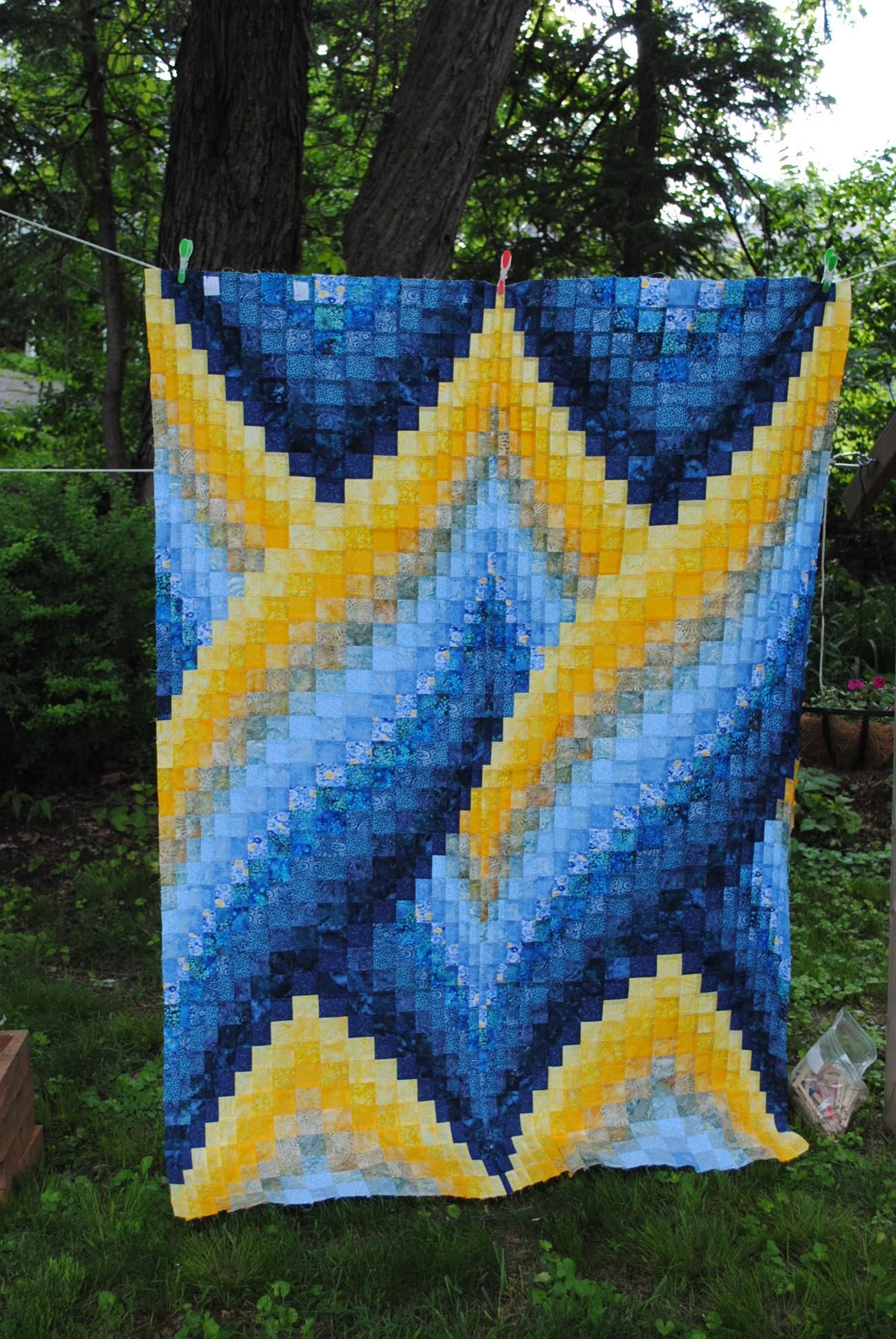 Wip Wednesday Bargello Patterns Bargello Quilt Patterns