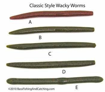 Wacky Worm Fishing Offers A Multitude Of Combinations And Techniques For Plastic