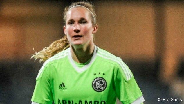 Titel ver weg voor Ajax Vrouwen na misstap