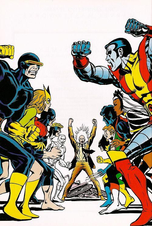 rockofeternity:  X-Men vs. X-Men — Dave Cockrum