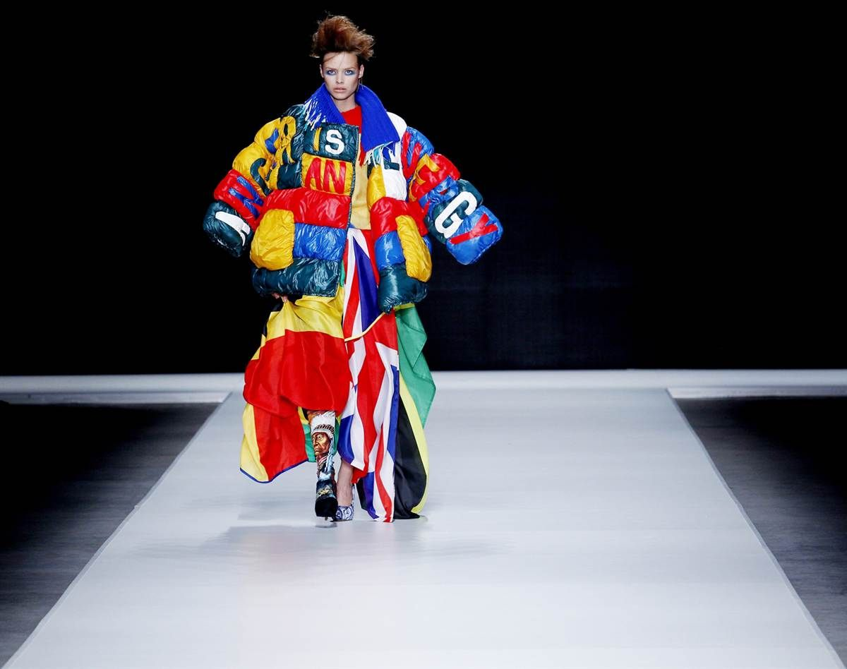 "Auditioning for a futuristic remake of ""Joseph and His Amazing Technicolor Dreamcoat?"""