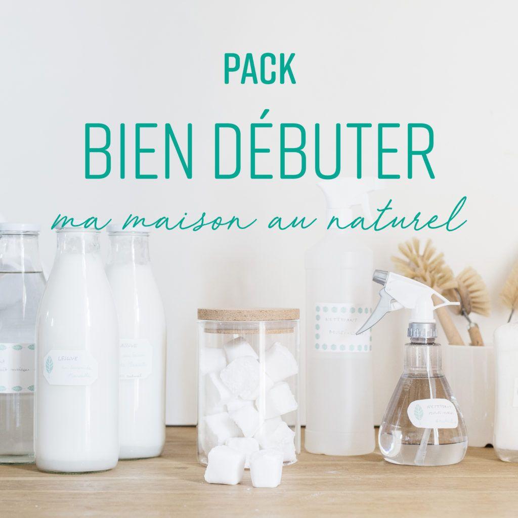 pack bien d buter fait maison diy cleaning products zero waste et diy. Black Bedroom Furniture Sets. Home Design Ideas