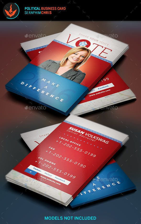 Vote political business card template card templates business vote political business card template colourmoves