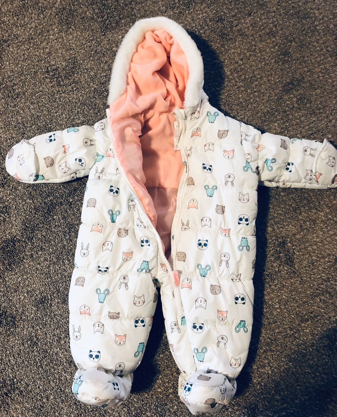 Baby Snow Suit 6 12 Months Baby In Snow Snow Suit One Piece