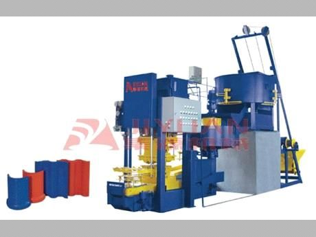 Jy120 Automatic Roof Color Tile Making Machine Jy120 China Cement Roof Tile Machine Roof Tile Making Machine Jiyuan Roof Colors Color Tile Making Machine
