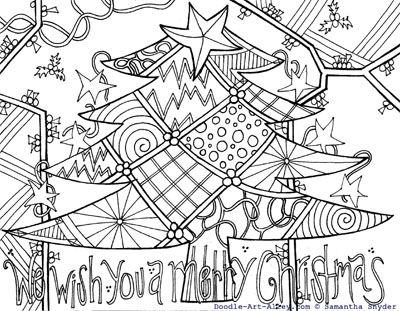 Doodle Art Coloring Pages And A Lot Of Abstract Coloring Printables