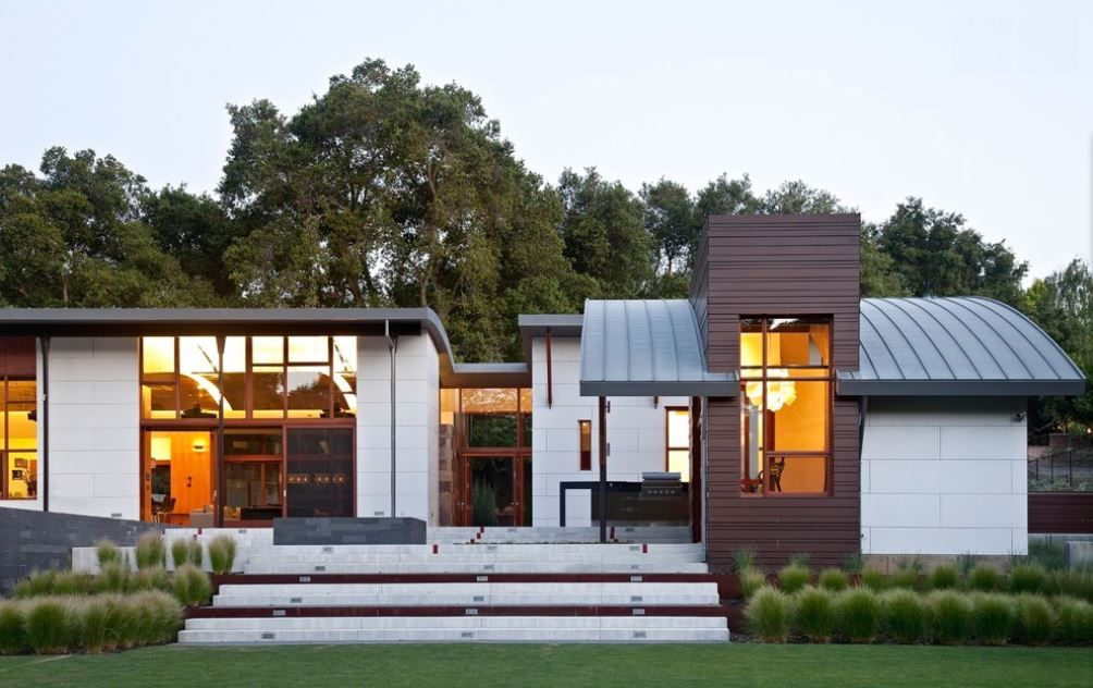 When Building A New House Or Retrofitting An Existing One Choosing The Right Type Of Roof Can Be More Difficult Flat Roof House Roof Design House Roof Design
