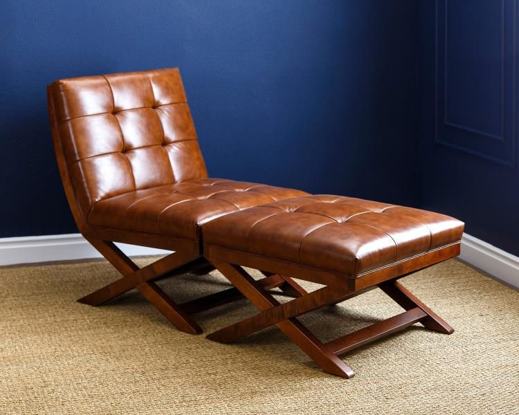 Superb Abbyson Living Tribeca Camel Bonded Leather Chair Ottoman Pdpeps Interior Chair Design Pdpepsorg