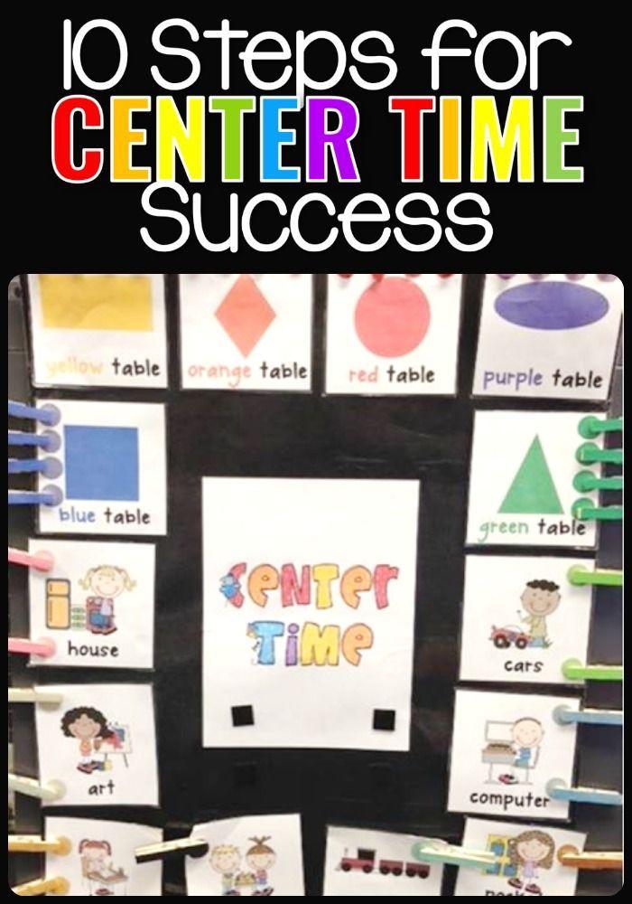 10 Steps for Center Time Success