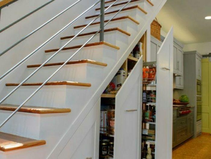 1-aménagement-sous-escalier-placard-sous-escalier-meubles-sous - porte de placard sous escalier