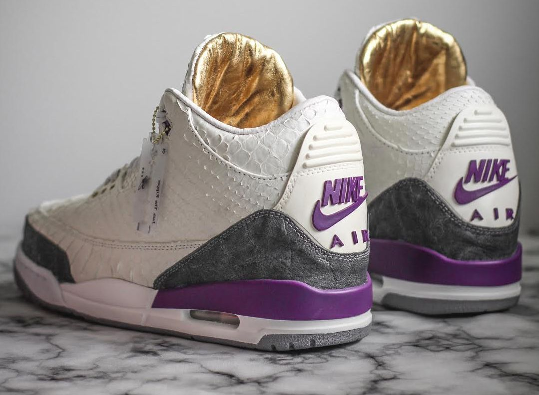 30279e654c37d7 Jack The Ripper Covers The Air Jordan 3 Kobe PE In Python And Elephant