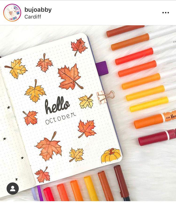 14 Fall Bullet Journal Ideas