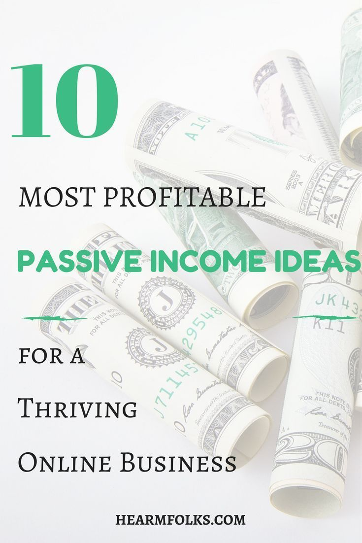 Looking for a cool list of Passive Income Ideas to Kickstart Your ...