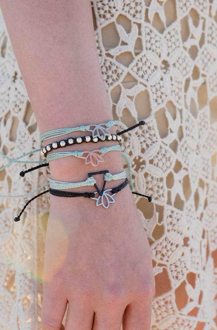 Lotus charms pura vida bracelets take off your order at
