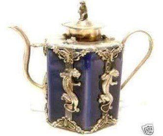 Rare Asian Collection of exquisite Tibet silver monkey teapot with dragon on it pot free shipping-in Coffee & Tea Sets from Home & Garden on Aliexpress.com