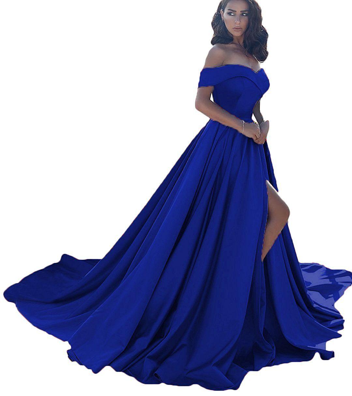 Utamall shoulder sweetheart strapless prom party dress long