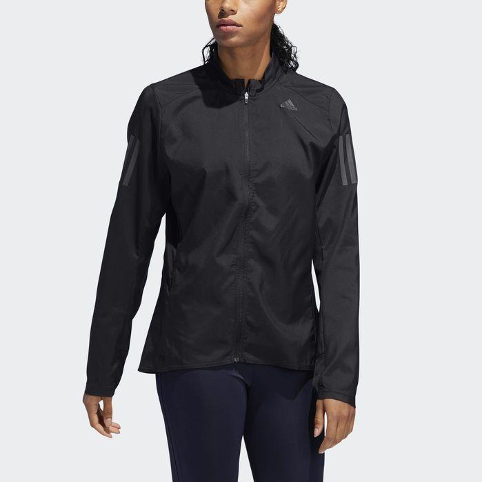 Own the Run Jacket Black Womens   Adidas women, Jackets