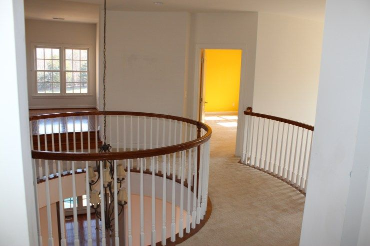 Best How To Re Stain Stairs Railings And Paint Stair Risers 400 x 300