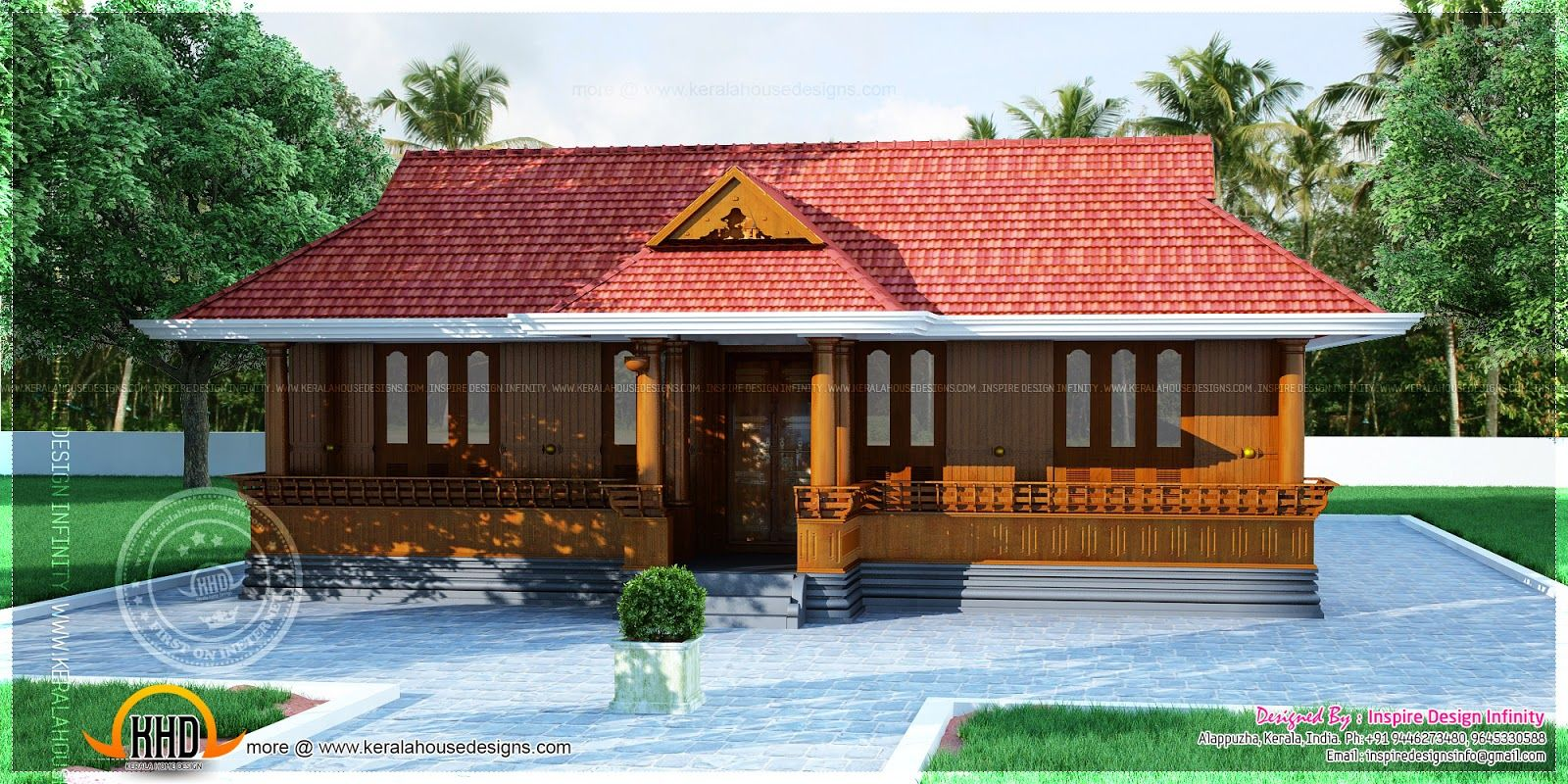 Nalukettu plan my sweet home pinterest kerala for Low cost kerala veedu plans