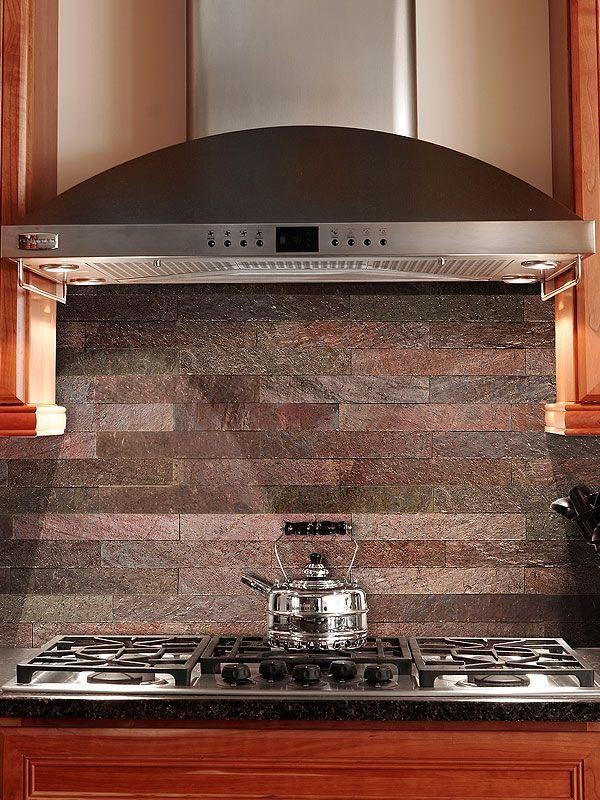Lovely Copper color subway kitchen backsplash tile from Backsplash Ideas - copper tile backsplash Photo