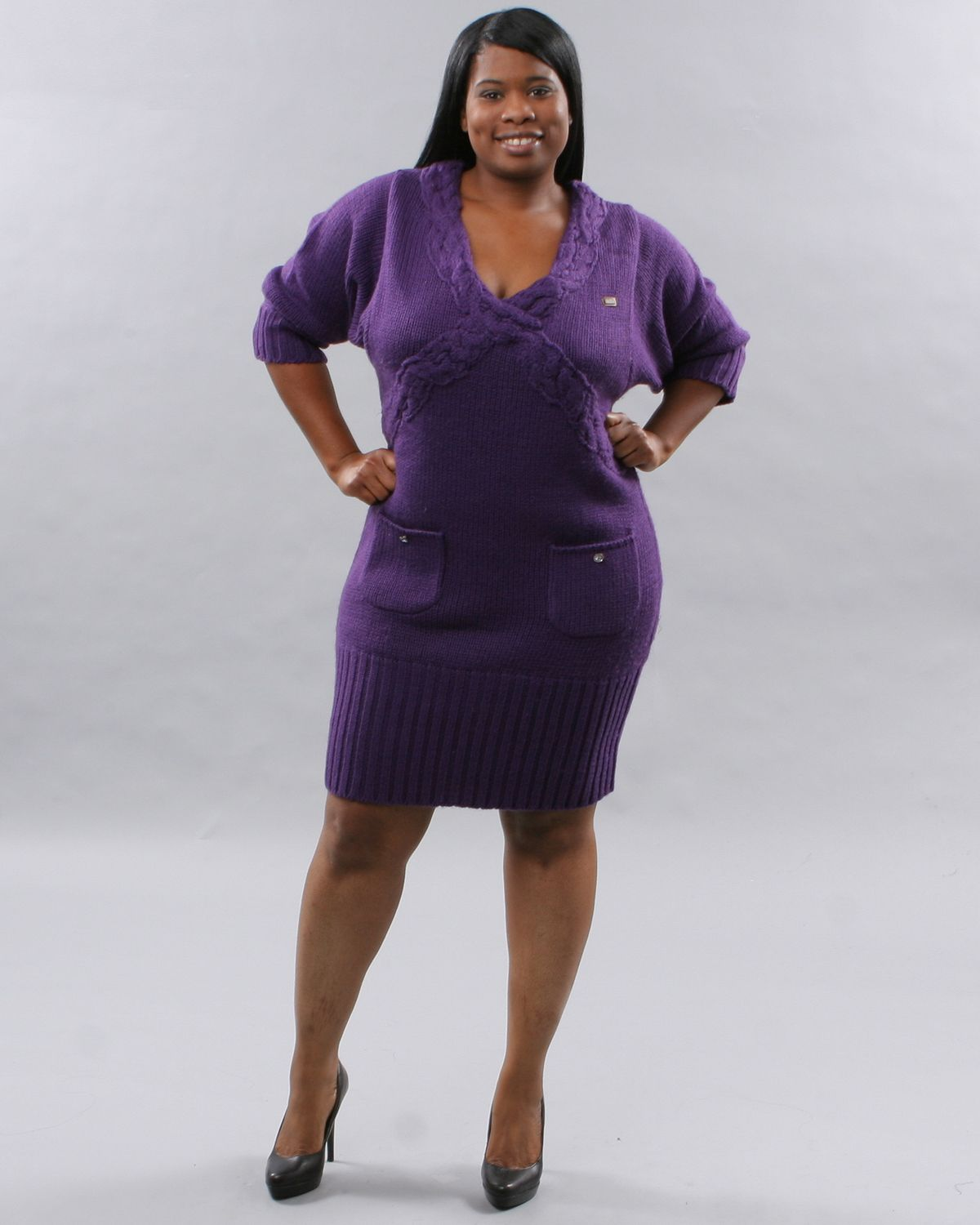 Full figured plus size women