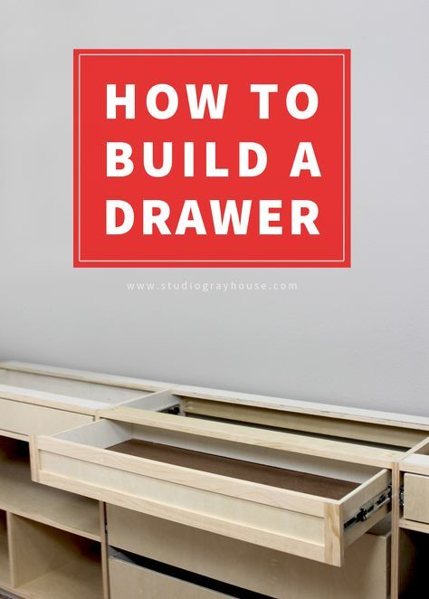 How To Build A Drawer Kitchen Cabinets Pinterest Woodworking
