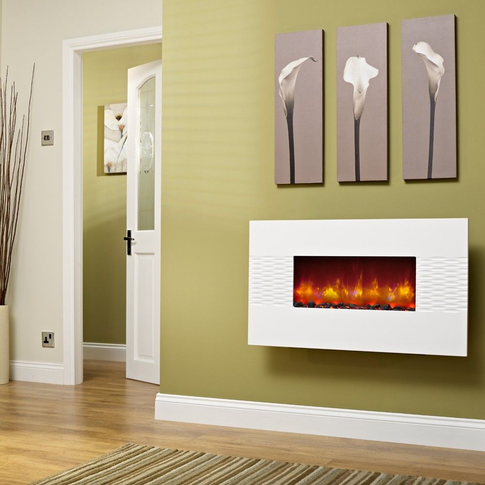 wall mount electric fireplace ideas - Google Search | Home ...